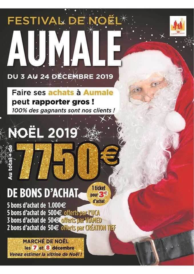Festival Commercial & Marché de Noël à Aumale - Office de tourisme Aumale  blangy sur bresle